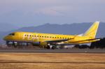 多楽さんが、静岡空港で撮影したフジドリームエアラインズ ERJ-170-200 (ERJ-175STD)の航空フォト(写真)