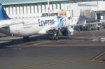 鼻たれ小僧さんが、ムハンマド5世国際空港で撮影したエジプト航空 A321-231の航空フォト(写真)