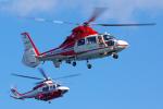 PASSENGERさんが、横浜ヘリポートで撮影した横浜市消防航空隊 AS365N2 Dauphin 2の航空フォト(写真)