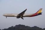 pringlesさんが、福岡空港で撮影したアシアナ航空 A330-323Xの航空フォト(写真)