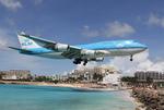 Jackyさんが、プリンセス・ジュリアナ国際空港で撮影したKLMオランダ航空 747-406の航空フォト(写真)