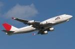 木人さんが、成田国際空港で撮影した日本航空 747-446の航空フォト(写真)
