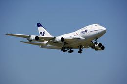 tsubameさんが、成田国際空港で撮影したイラン航空 747SP-86の航空フォト(写真)
