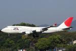 A-Chanさんが、福岡空港で撮影した日本航空 747-446の航空フォト(写真)