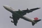 木人さんが、成田国際空港で撮影した日本航空 747-446(BCF)の航空フォト(写真)