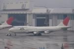 木人さんが、成田国際空港で撮影した日本航空 747-346の航空フォト(写真)
