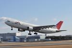 ニライカナイさんが、伊丹空港で撮影した日本航空 A300B4-622Rの航空フォト(写真)