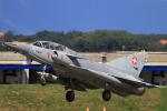 Dainukeさんが、ミリテール・ド・ペイエルヌ飛行場で撮影したスイス空軍 Mirage IIIDSの航空フォト(写真)