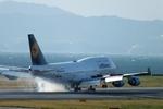 山河 彩さんが、関西国際空港で撮影したルフトハンザドイツ航空 747-430の航空フォト(写真)