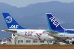 たっきーさんが、高知空港で撮影した日本エアシステム A300B2K-3Cの航空フォト(写真)