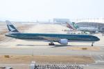 ぽんさんが、関西国際空港で撮影したキャセイパシフィック航空 777-367/ERの航空フォト(写真)