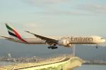 ぽんさんが、関西国際空港で撮影したエミレーツ航空 777-36N/ERの航空フォト(写真)