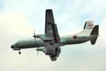 なまくら はげるさんが、厚木飛行場で撮影した海上自衛隊 YS-11A-404M-Aの航空フォト(写真)