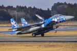 Atsugi R4さんが、茨城空港で撮影した航空自衛隊 F-15J Eagleの航空フォト(写真)
