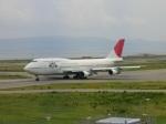 空が大好き!さんが、関西国際空港で撮影した日本航空 747-346の航空フォト(写真)