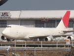 やまばとさんが、成田国際空港で撮影した日本航空 747-246F/SCDの航空フォト(写真)