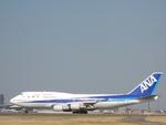 やまばとさんが、成田国際空港で撮影した全日空 747-481の航空フォト(写真)