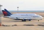なごやんさんが、中部国際空港で撮影したデルタ航空 747-451の航空フォト(写真)