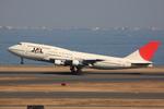 speedbirdさんが、羽田空港で撮影した日本航空 747-146B/SR/SUDの航空フォト(写真)
