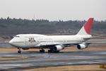 Kinyaさんが、成田国際空港で撮影した日本航空 747-446の航空フォト(写真)
