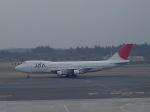JA711Aさんが、成田国際空港で撮影した日本アジア航空 747-246Bの航空フォト(写真)