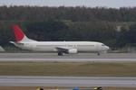 JapanAir3211さんが、那覇空港で撮影した日本トランスオーシャン航空 737-4K5の航空フォト(写真)
