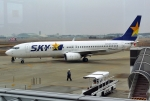sonnyさんが、茨城空港で撮影したスカイマーク 737-8FHの航空フォト(写真)