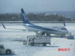 鬼の手さんが、函館空港で撮影した全日空 737-781の航空フォト(写真)