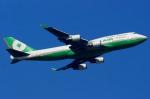 shimonさんが、台湾桃園国際空港で撮影したエバー航空 747-45Eの航空フォト(写真)