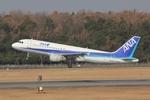 ふぁんとむ改さんが、熊本空港で撮影した全日空 A320-211の航空フォト(写真)