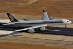 ロサンゼルス国際空港 - Los Angeles International Airport [LAX/KLAX]で撮影されたシンガポール航空 - Singapore Airlines [SQ/SIA]の航空機写真