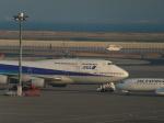 Kevin でるたらぶさんが、羽田空港で撮影した全日空 747-481(D)の航空フォト(写真)