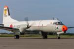 岡崎美合さんが、八戸航空基地で撮影した海上自衛隊 YS-11A-206T-Aの航空フォト(写真)