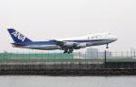 TRAVAIRさんが、羽田空港で撮影した全日空 747SR-81の航空フォト(写真)