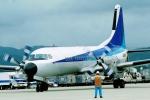 たろりんさんが、仙台空港で撮影した全日空 YS-11A-500の航空フォト(写真)