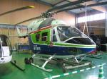 ゴンタさんが、舞洲ヘリポートで撮影した日本個人所有 BK117B-1の航空フォト(写真)