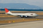 かみきりむしさんが、中部国際空港で撮影した日本航空 747-346の航空フォト(写真)