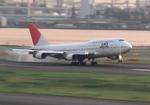 toyokoさんが、羽田空港で撮影した日本航空 747-446Dの航空フォト(写真)