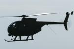 岡崎美合さんが、新田原基地で撮影した陸上自衛隊 OH-6Dの航空フォト(写真)