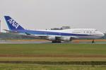 ぶる~すかい。さんが、成田国際空港で撮影した全日空 747-481の航空フォト(写真)