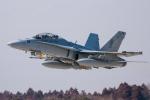 airbandさんが、茨城空港で撮影したアメリカ海兵隊 F/A-18D Hornetの航空フォト(写真)