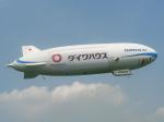 岡崎美合さんが、ホンダエアポートで撮影した日本飛行船 LZN07-100の航空フォト(写真)