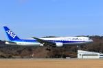 jinopekoさんが、広島空港で撮影した全日空 767-381の航空フォト(写真)