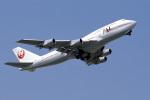 senyoさんが、成田国際空港で撮影した日本航空 747-346の航空フォト(写真)