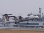 テクストTPSさんが、松山空港で撮影した日本エアコミューター DHC-8-402Q Dash 8の航空フォト(写真)