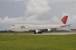 kumagorouさんが、下地島空港で撮影した日本航空 747-346の航空フォト(写真)