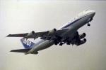 ATOMさんが、新千歳空港で撮影した全日空 747SR-81の航空フォト(写真)