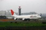リョウさんが、成田国際空港で撮影した日本航空 747-446(BCF)の航空フォト(写真)
