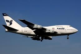 kinsanさんが、成田国際空港で撮影したイラン航空 747SP-86の航空フォト(写真)