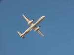 ヒロポンさんが、福島空港で撮影したANAウイングス DHC-8-402Q Dash 8の航空フォト(写真)